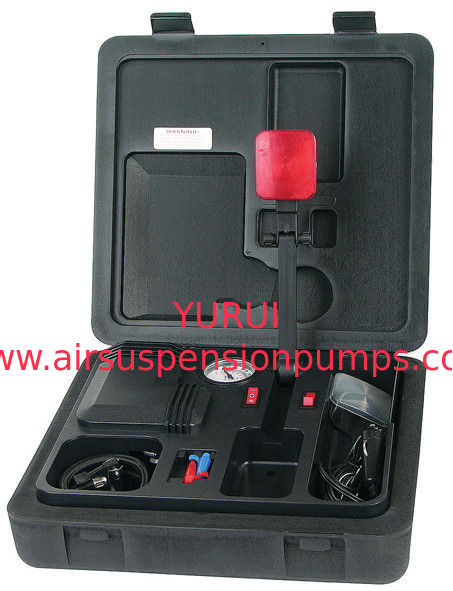 Various Functions Air Compressor Kit For Inflation With Lamp , Fast Inflation And Portable to Carry With