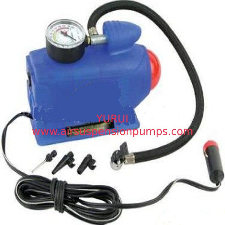 Blue Electric  Vehicle Mounted Air Compressor Customized 3 In 1 Type