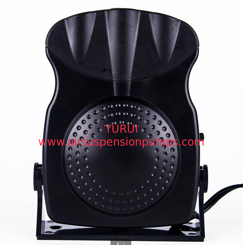 150w Small Portable Car Heaters Black Fan Heater With Cool Warm Switch