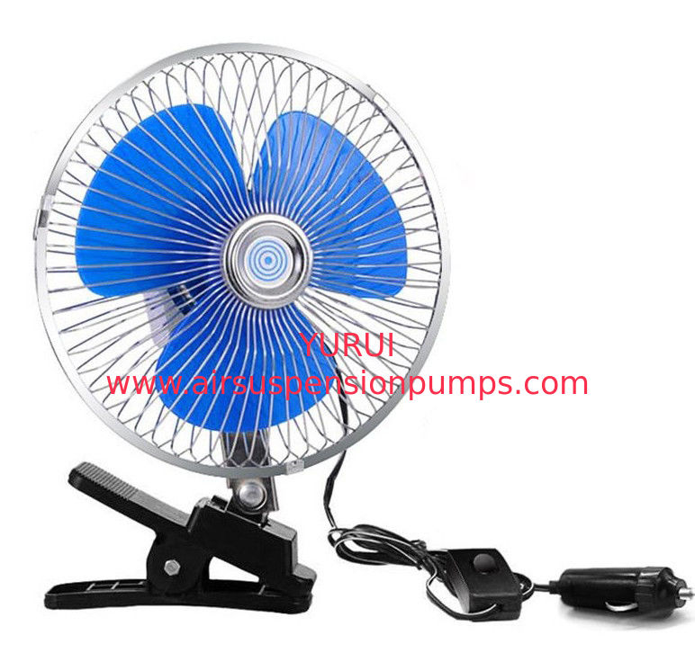 CE Standard Car Cooling Fan 12V / 24V Voltage With One Year Warranty